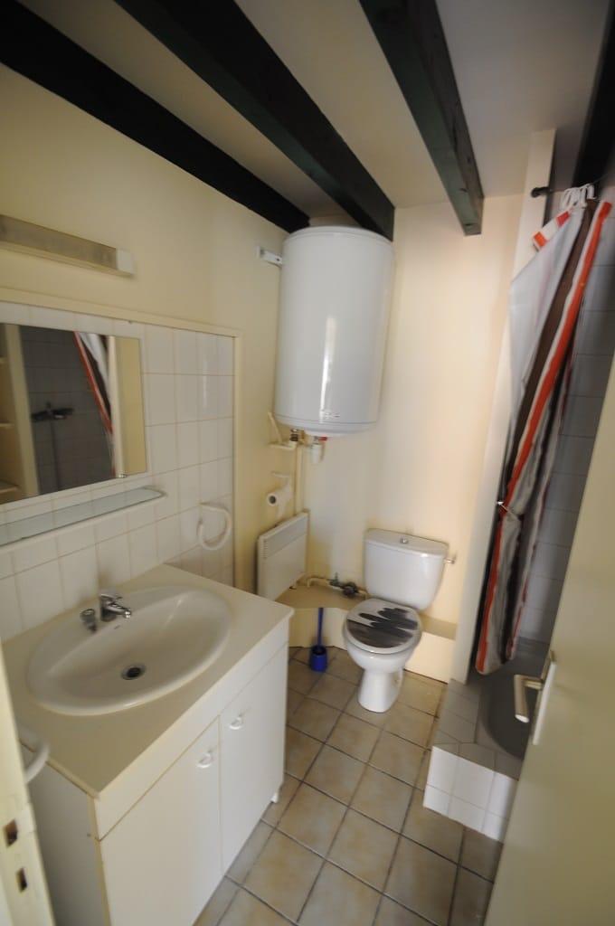 La pièce salle d'eau WC
